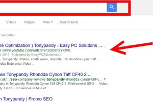 Produce a video to appear on first page of search engine Google.